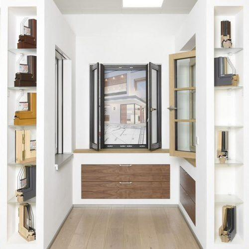 Holz-Fenster-SBB-Showroom