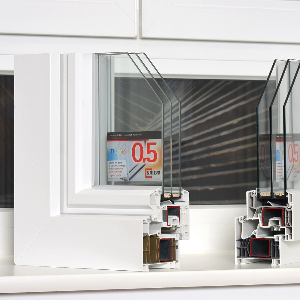 Kunststofffenster Uebersicht